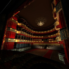 Photo of inside of Russian Maly theater