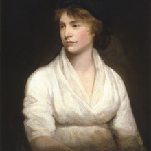 Oil painting of Mary Wollstonecraft
