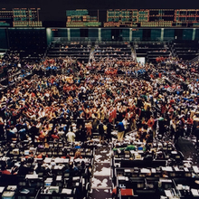 Photo of stocks trading floor