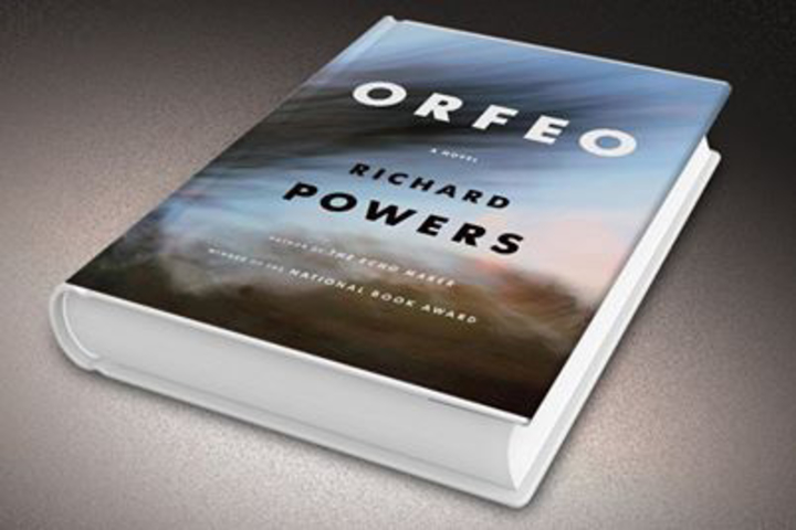 "Richard Powers' 11th novel, ""Orfeo"""