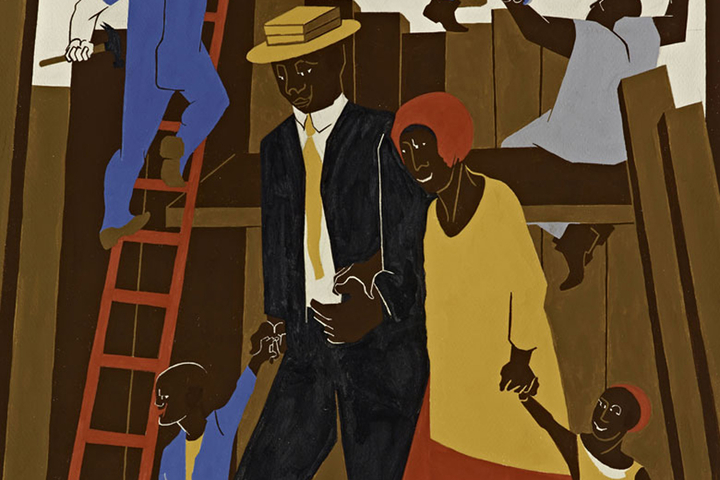 "Jacob Lawrence's ""Promised Land"""