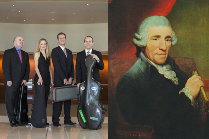 St. Lawrence String Quartet and Hayden