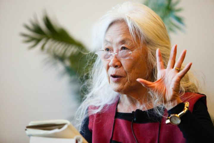 Maxine Hong Kingston speaking