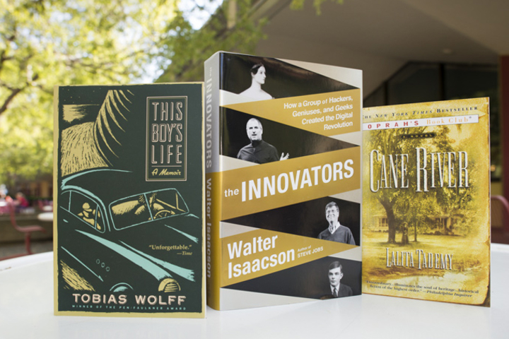 The annual Three Books program serves as an introduction to intellectual life at Stanford for incoming students. This year's books were selected by President John Hennessy.