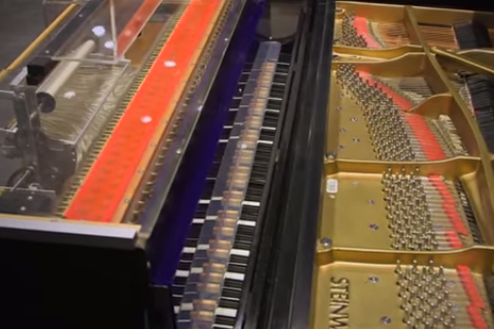 Stanford's new player piano collection