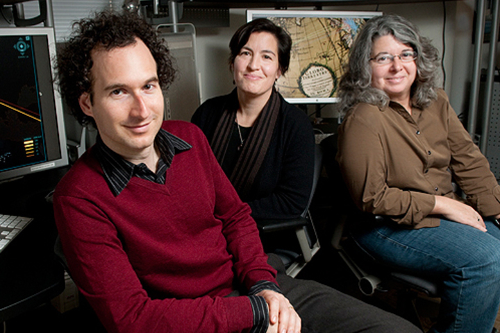 Dan Edelstein, Nicole Coleman and Paula Findlen have mapped thousands of pieces of correspondence for the Republic of Letters project.