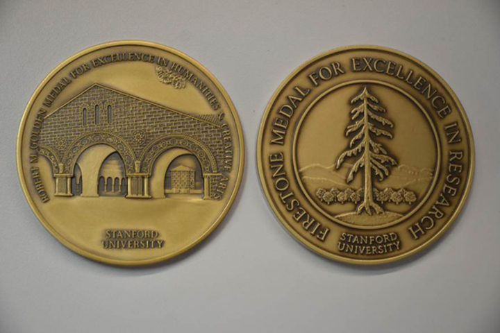 Firestone and Golden Medals are awarded to the top 10 percent of undergraduate honors theses completed in a given year.