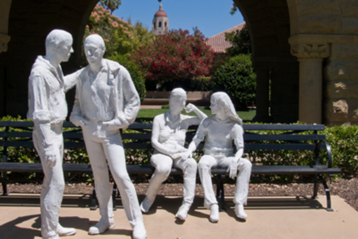 George Segal's 'Gay Liberation' sculpture