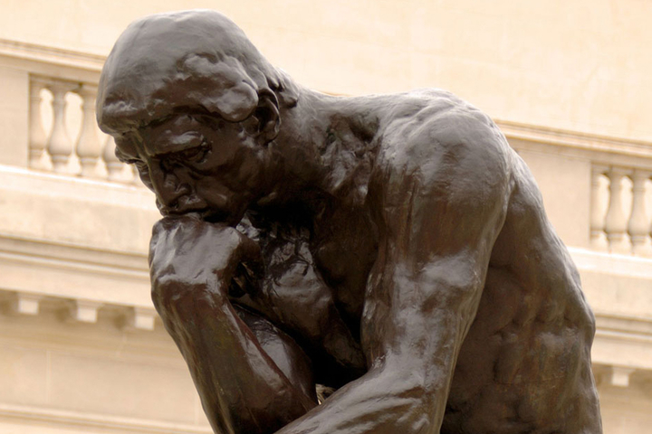 image of Rodin's The Thinker