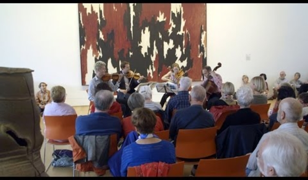 The St. Lawrence String Quartet performs at The Anderson Collection at Stanford University