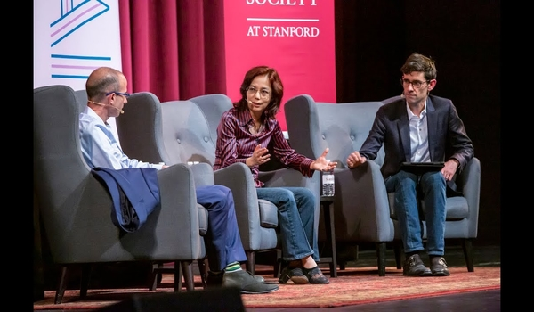Yuval Noah Harari in Conversation with Fei-Fei Li, Moderated by Nicholas Thompson