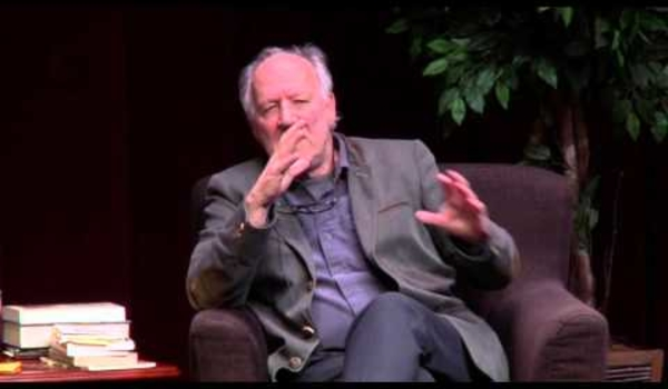 Legendary Werner Herzog talks books with author Robert Pogue Harrison: full-length version
