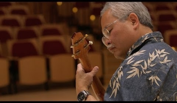 Stanford professor makes ukuleles from Bing Concert Hall floor