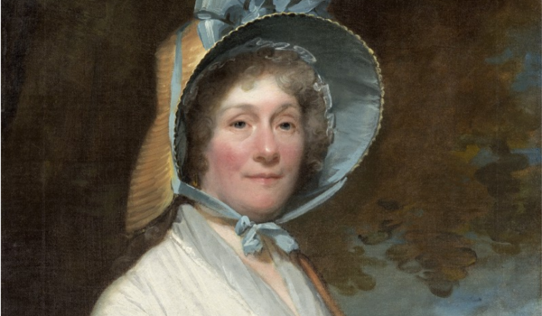 A portrait of Henrietta Liston by Gilbert Stuart (c. 1800).